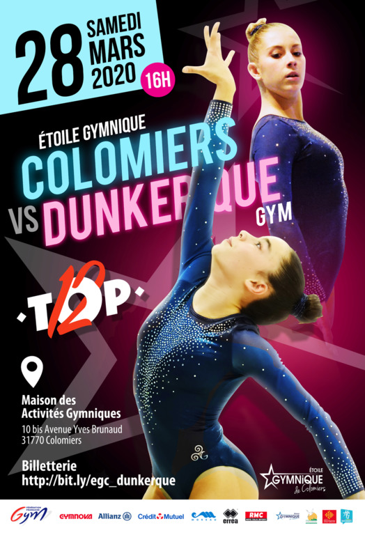 Match Top12 Colomiers / Dunkerque